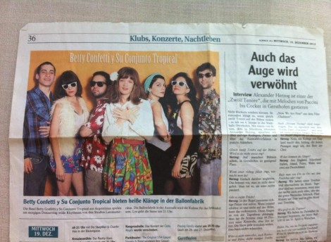 prensa auf deutsch