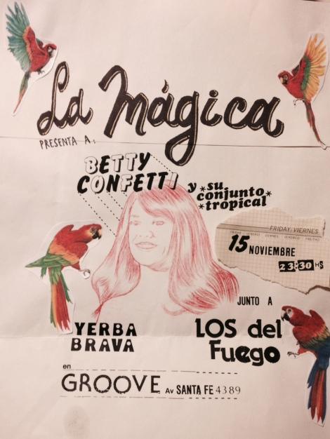 La Mágica con LOS DEL FUEGO y YERBA BRAVA!!!